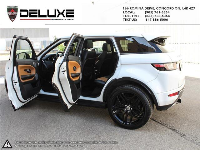 2016 Land Rover Range Rover Evoque HSE DYNAMIC (Stk: D0611) in Concord - Image 14 of 30
