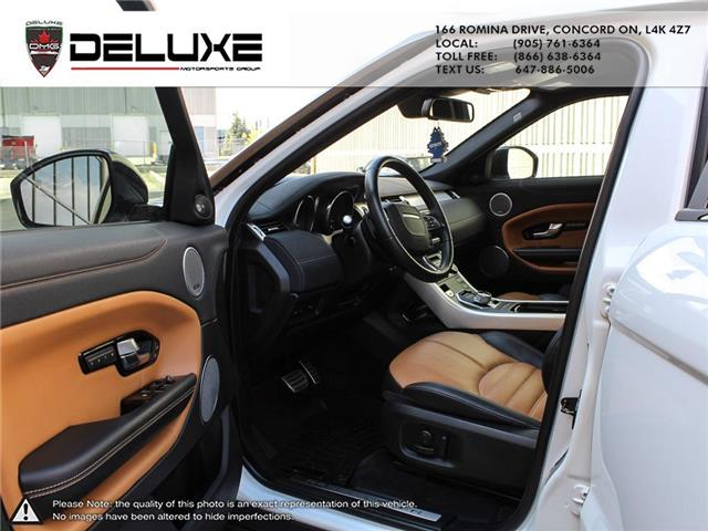 2016 Land Rover Range Rover Evoque HSE DYNAMIC (Stk: D0611) in Concord - Image 15 of 30