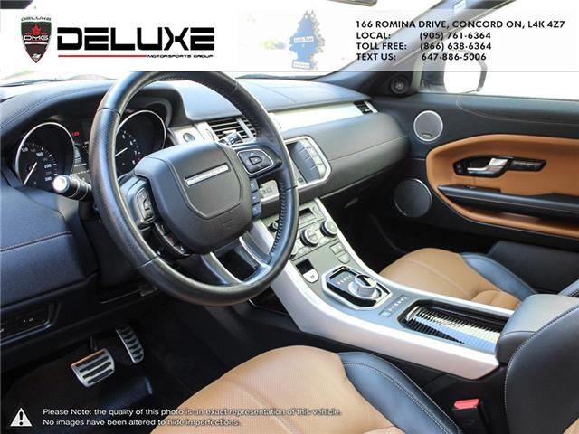 2016 Land Rover Range Rover Evoque HSE DYNAMIC (Stk: D0611) in Concord - Image 16 of 30
