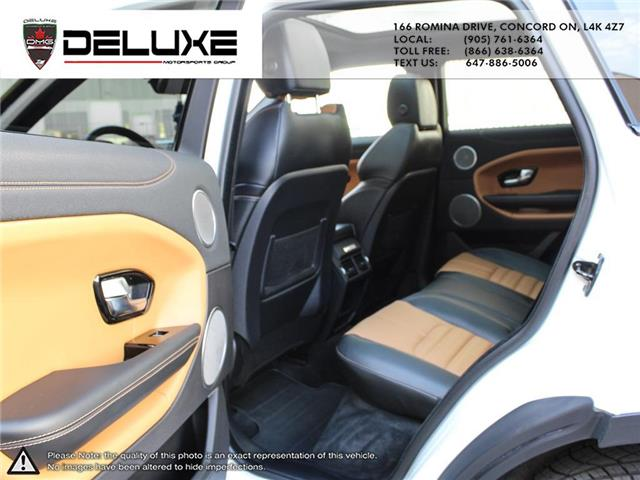 2016 Land Rover Range Rover Evoque HSE DYNAMIC (Stk: D0611) in Concord - Image 17 of 30
