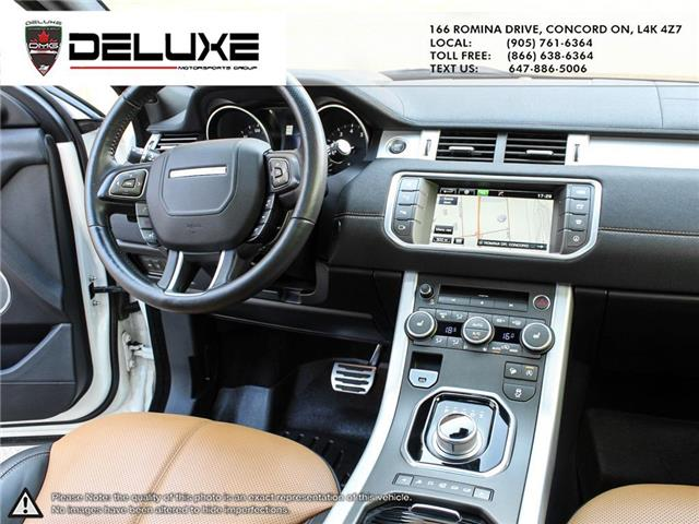 2016 Land Rover Range Rover Evoque HSE DYNAMIC (Stk: D0611) in Concord - Image 19 of 30