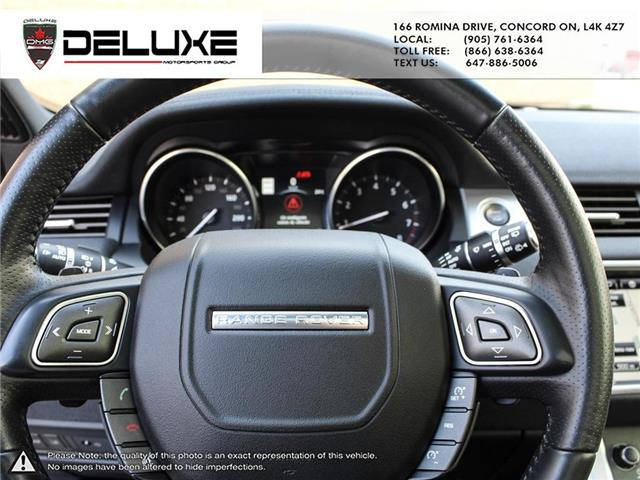 2016 Land Rover Range Rover Evoque HSE DYNAMIC (Stk: D0611) in Concord - Image 27 of 30