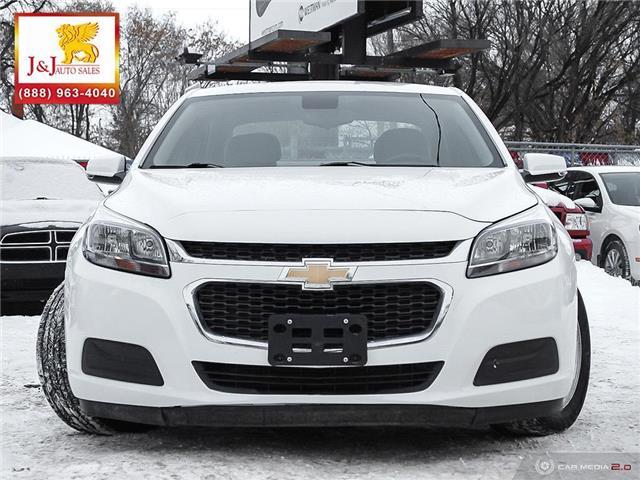 2016 Chevrolet Malibu Limited LS (Stk: J19058) in Brandon - Image 2 of 27