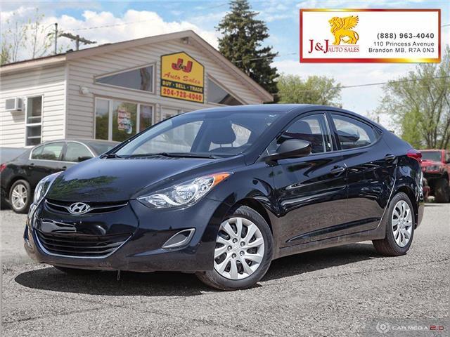 2013 Hyundai Elantra GLS (Stk: J19034) in Brandon - Image 1 of 27