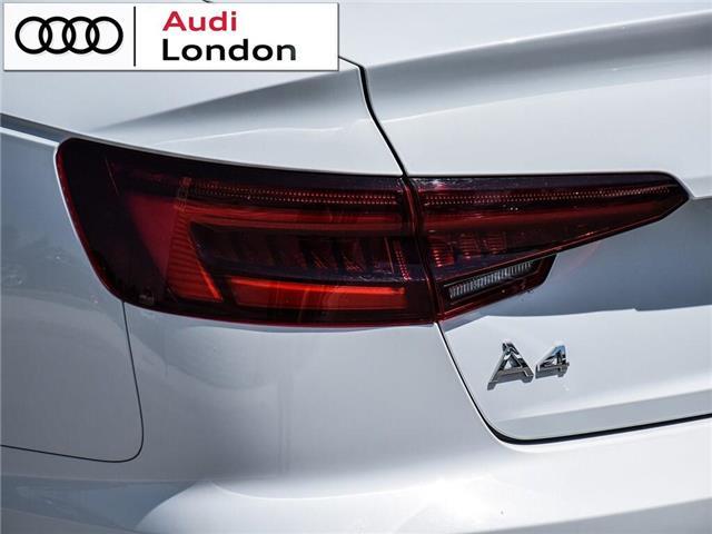 2018 Audi A4 2.0T Progressiv (Stk: 414768) in London - Image 6 of 24