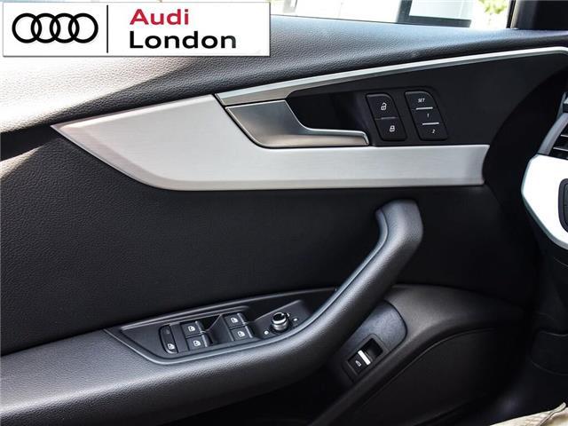 2018 Audi A4 2.0T Progressiv (Stk: 414768) in London - Image 9 of 24