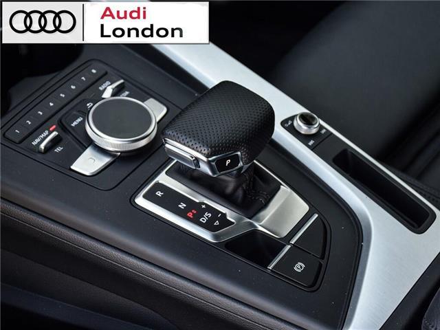 2018 Audi A4 2.0T Progressiv (Stk: 414768) in London - Image 12 of 24