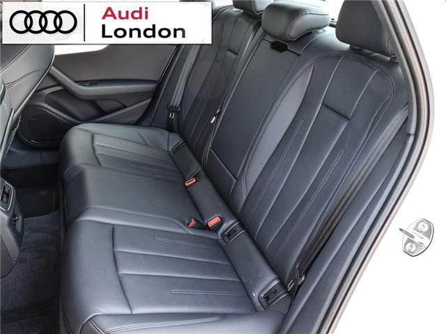 2018 Audi A4 2.0T Progressiv (Stk: 414768) in London - Image 15 of 24