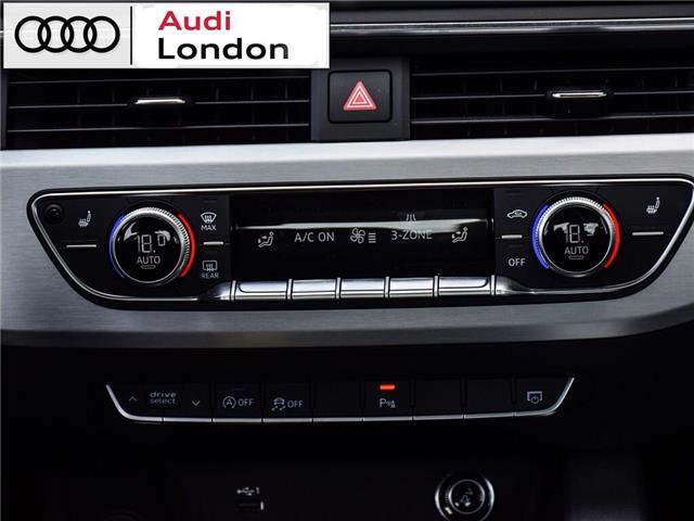 2018 Audi A4 2.0T Progressiv (Stk: 414768) in London - Image 21 of 24