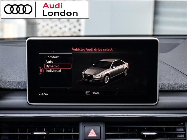 2018 Audi A4 2.0T Progressiv (Stk: 414768) in London - Image 23 of 24