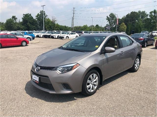 2015 Toyota Corolla  (Stk: u2673) in Vaughan - Image 1 of 16