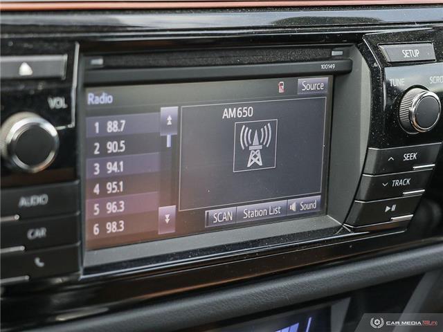 2015 Toyota Corolla S (Stk: A2891) in Saskatoon - Image 21 of 27