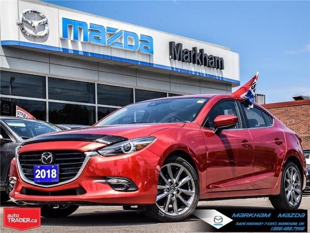 2018 Mazda Mazda3 GT (Stk: N190199A) in Markham - Image 1 of 29