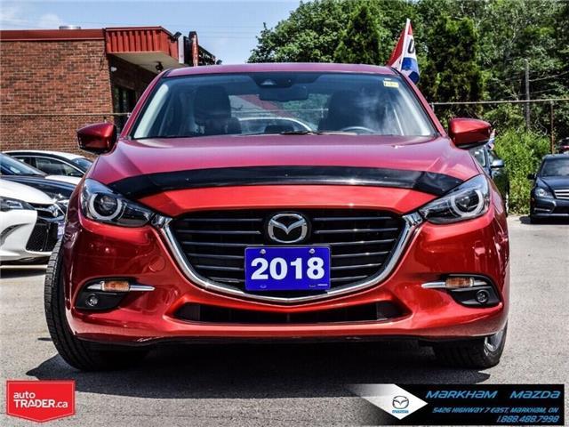 2018 Mazda Mazda3 GT (Stk: N190199A) in Markham - Image 2 of 29