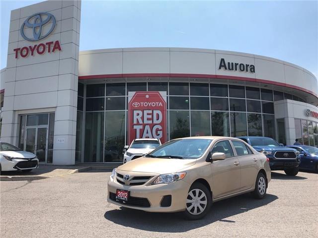 2012 Toyota Corolla CE (Stk: 310561) in Aurora - Image 1 of 21