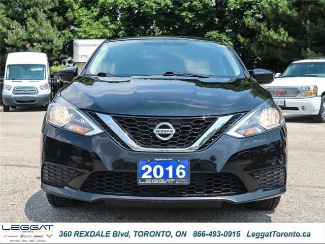 2016 Nissan Sentra  (Stk: 346534A) in Etobicoke - Image 2 of 24