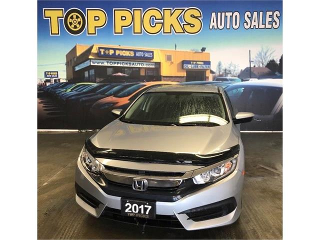 2017 Honda Civic LX (Stk: 035094) in NORTH BAY - Image 1 of 25