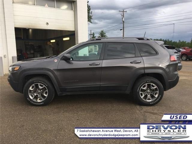 2019 Jeep Cherokee Trailhawk (Stk: PW0422) in Devon - Image 1 of 9