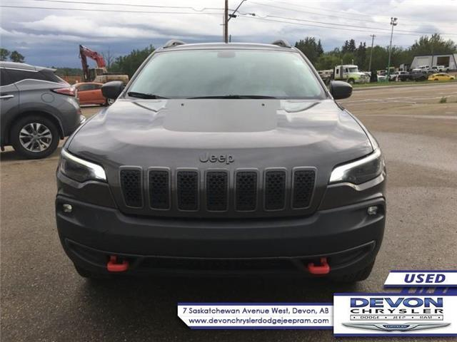 2019 Jeep Cherokee Trailhawk (Stk: PW0422) in Devon - Image 2 of 9