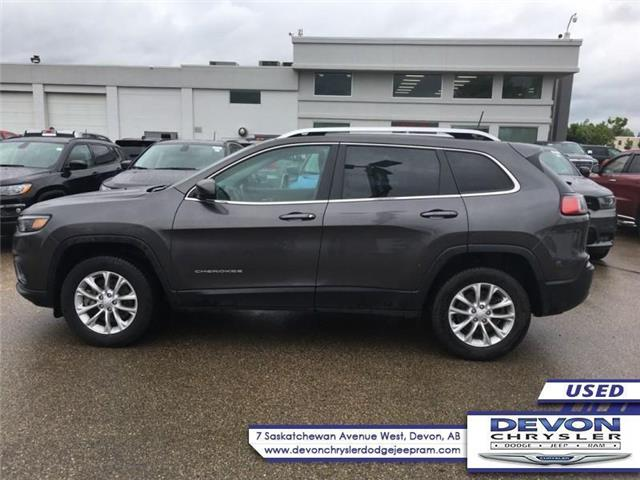 2019 Jeep Cherokee North (Stk: PW0421) in Devon - Image 1 of 9