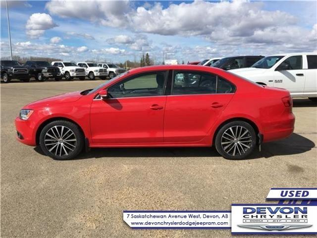 2014 Volkswagen Jetta 2.0 TDI Highline (Stk: PW0383) in Devon - Image 1 of 12