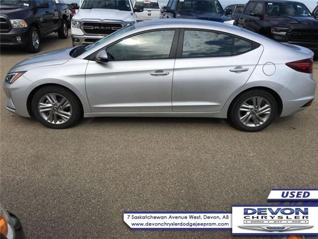 2019 Hyundai Elantra Preferred (Stk: PW0465) in Devon - Image 1 of 8