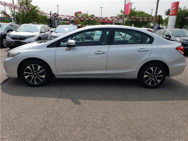 2015 Honda Civic EX (Stk: 326555A) in Mississauga - Image 2 of 22