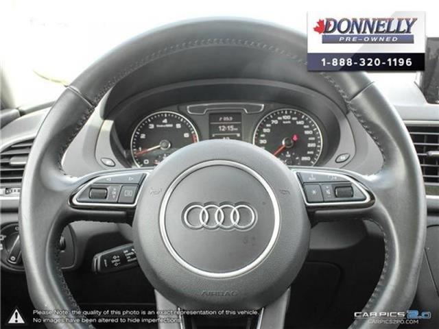2018 Audi Q3 2.0 TFSI Progressiv (Stk: CLMUR947) in Kanata - Image 14 of 27
