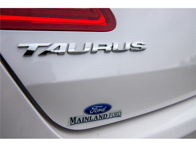 2014 Ford Taurus SEL (Stk: 9F39916B) in Vancouver - Image 11 of 30