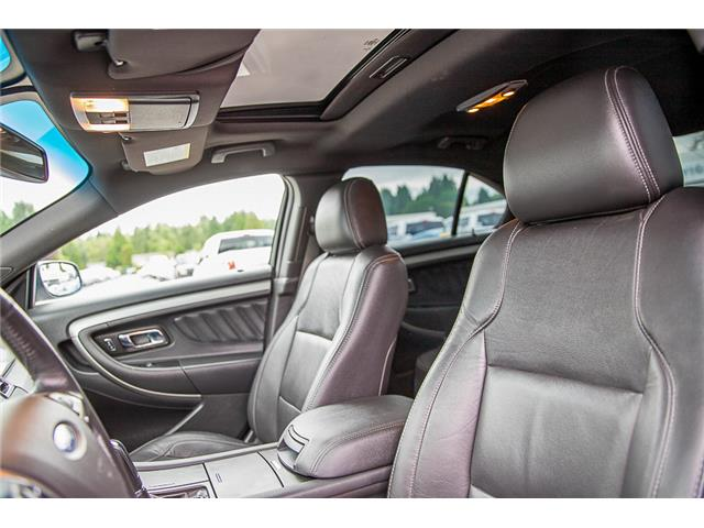 2014 Ford Taurus SEL (Stk: 9F39916B) in Vancouver - Image 14 of 30