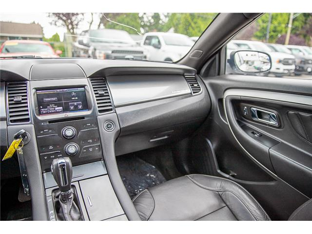 2014 Ford Taurus SEL (Stk: 9F39916B) in Vancouver - Image 19 of 30