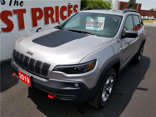2019 Jeep Cherokee Trailhawk (Stk: 19-457A) in Oshawa - Image 1 of 18