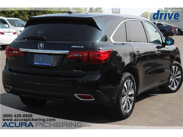 2016 Acura MDX Navigation Package (Stk: AP4885) in Pickering - Image 7 of 32