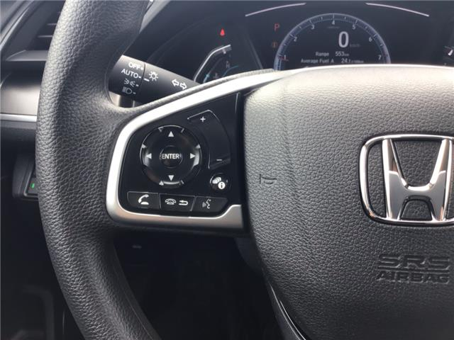 2019 Honda Civic LX (Stk: 19133) in Barrie - Image 10 of 21