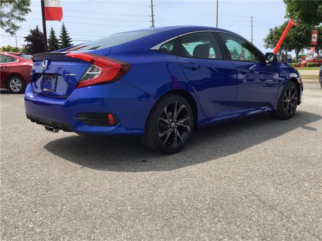 2019 Honda Civic Sport (Stk: 191462) in Barrie - Image 4 of 24