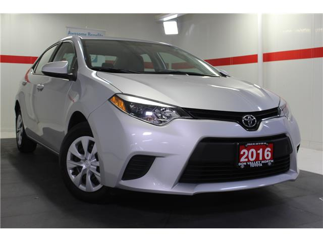 2016 Toyota Corolla CE (Stk: 298606S) in Markham - Image 1 of 23