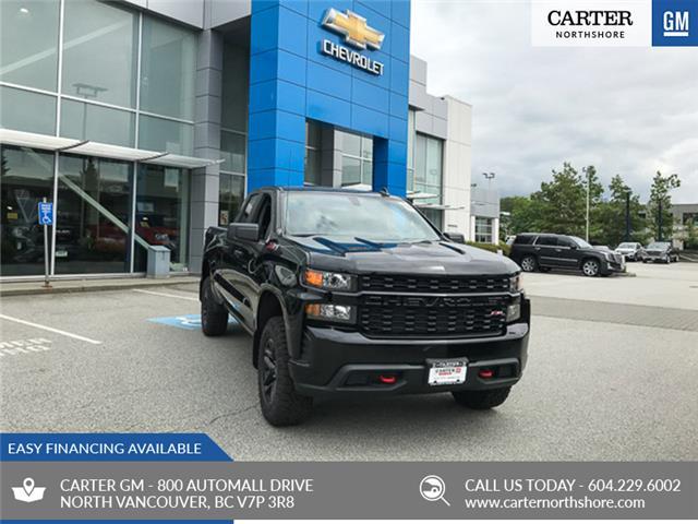 2019 Chevrolet Silverado 1500 Silverado Custom Trail Boss (Stk: 9L5243T) in North Vancouver - Image 1 of 13
