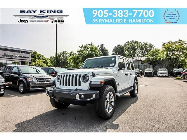 2019 Jeep Wrangler Unlimited Sahara (Stk: 197645) in Hamilton - Image 1 of 29