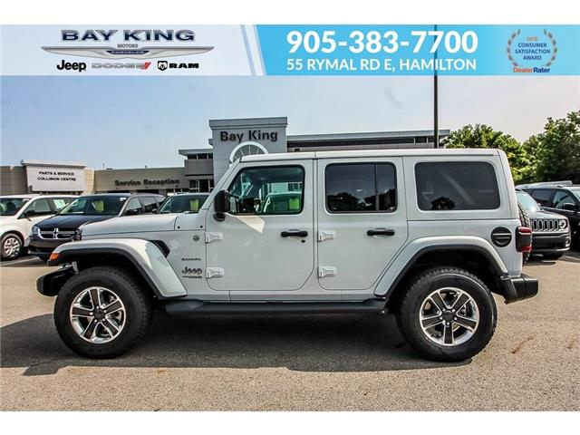 2019 Jeep Wrangler Unlimited Sahara (Stk: 197645) in Hamilton - Image 2 of 29