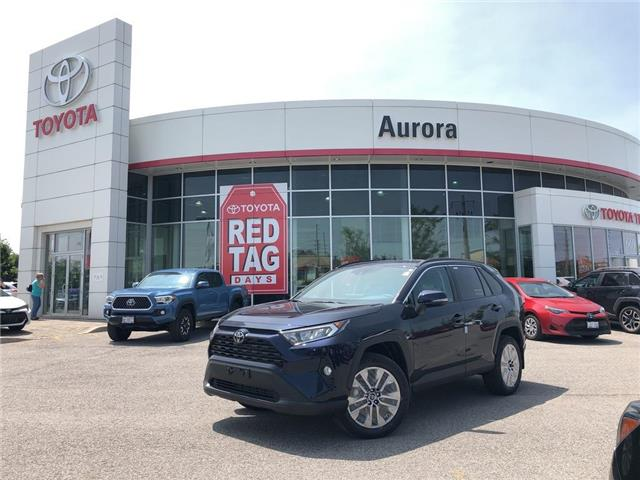 2019 Toyota RAV4 XLE (Stk: 31054) in Aurora - Image 1 of 15