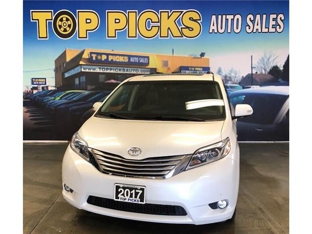 2017 Toyota Sienna XLE (Stk: 170579) in NORTH BAY - Image 1 of 29