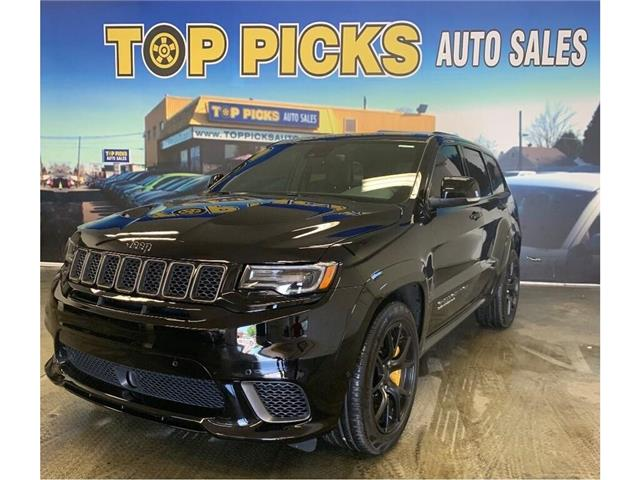 2018 Jeep Grand Cherokee Trackhawk (Stk: 209158) in NORTH BAY - Image 1 of 29
