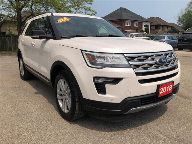 2018 Ford Explorer XLT| AWD| Navi| Backup Cam| Leather| Sunroof (Stk: 5280) in Stoney Creek - Image 6 of 18
