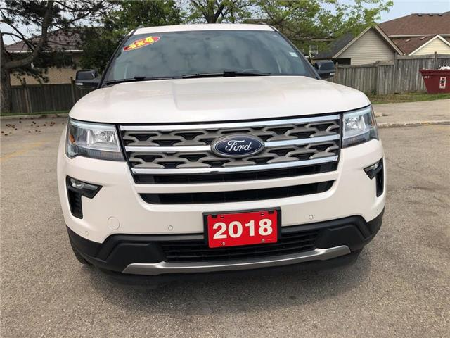 2018 Ford Explorer XLT| AWD| Navi| Backup Cam| Leather| Sunroof (Stk: 5280) in Stoney Creek - Image 7 of 18