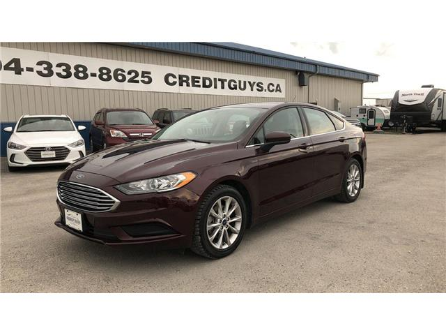 2017 Ford Fusion SE (Stk: I7719) in Winnipeg - Image 1 of 23