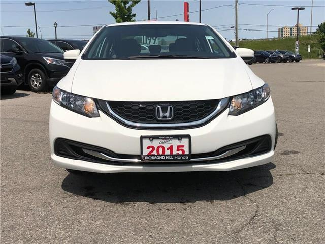 2015 Honda Civic LX (Stk: 190895P) in Richmond Hill - Image 2 of 17