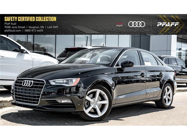 2016 Audi A3 1.8T Komfort (Stk: C6903) in Vaughan - Image 1 of 22