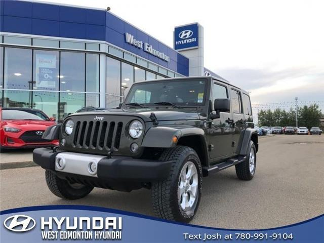 2015 Jeep Wrangler Unlimited Sahara (Stk: 96340A) in Edmonton - Image 1 of 20