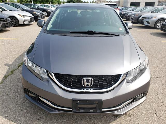 2013 Honda Civic Touring (Stk: 9-1072A) in Etobicoke - Image 2 of 16