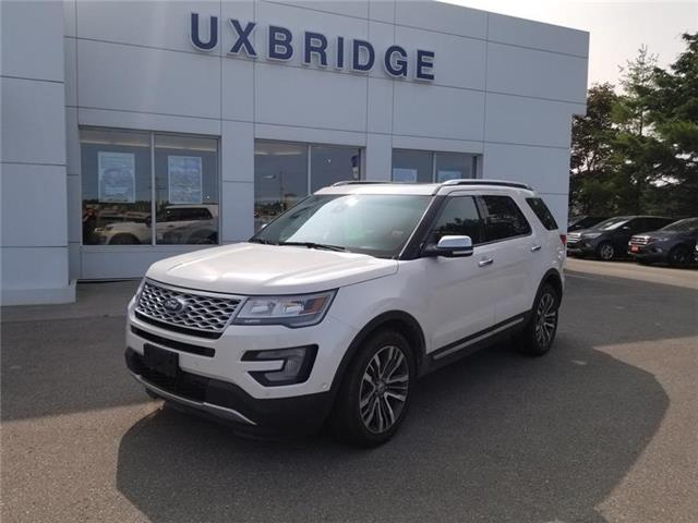 2016 Ford Explorer Platinum (Stk: DRA9017A) in Uxbridge - Image 1 of 6